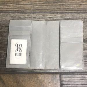 HOBO leather wallet. NWOT. Color is cloud.